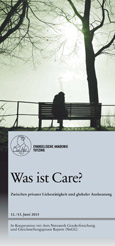 Care-Tagung - Flyer