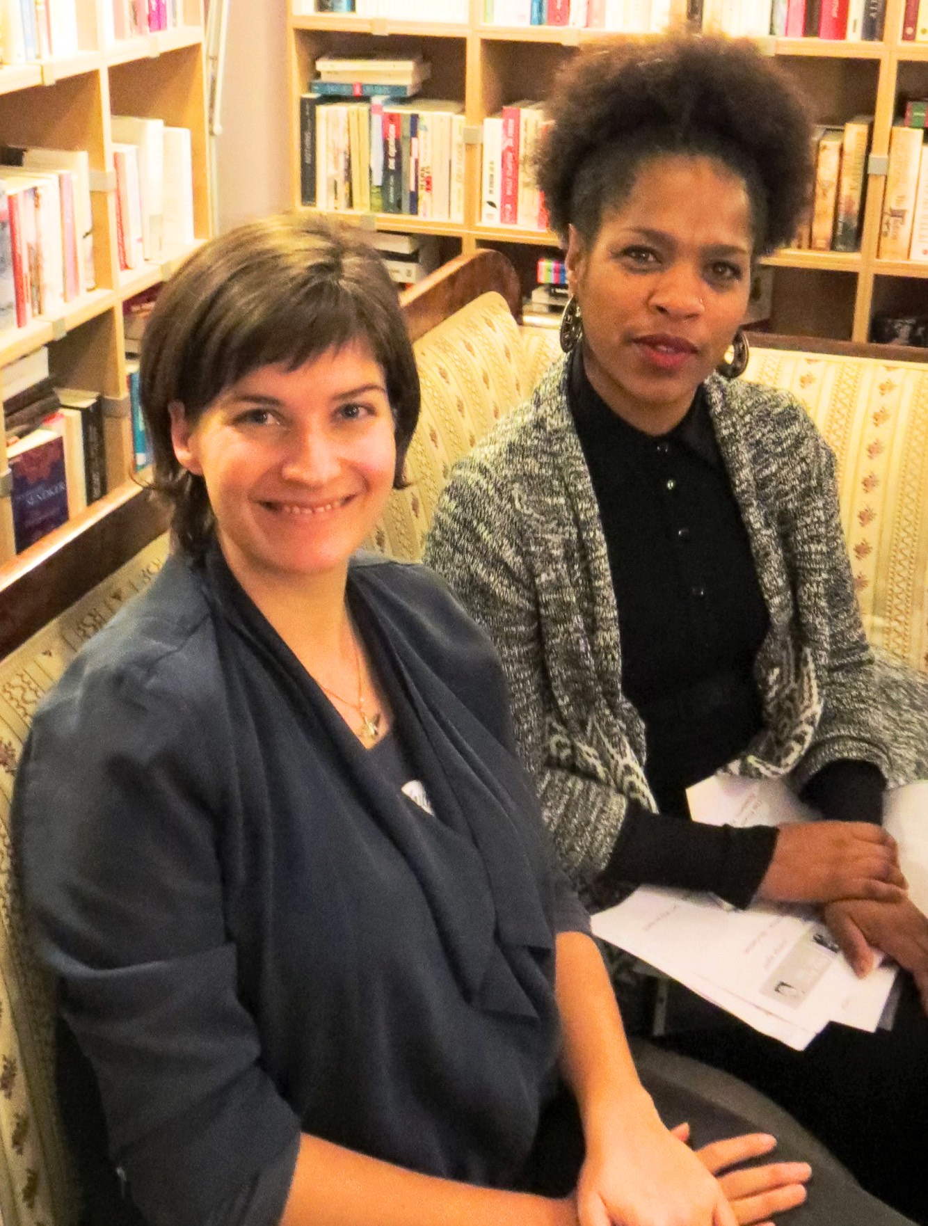 Laura Freisberg und Natasha A. Kelly