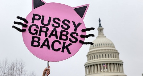 Pussy grabs back / by Lorie Schaull / flickr.com / licensed under CC 4.0