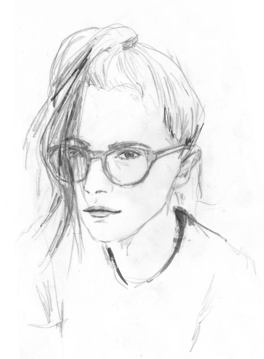 Kheira Linder - Selbstporträt
